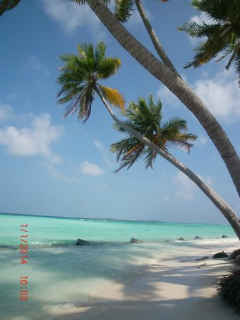 Kaani Beach Hotel: Пляж