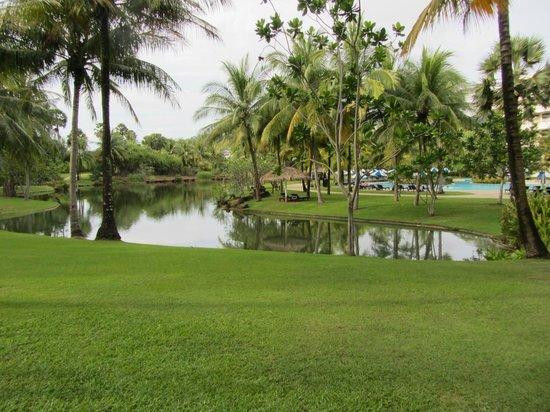 Hilton Phuket Arcadia Resort & Spa: En af søerne på hotelområdet