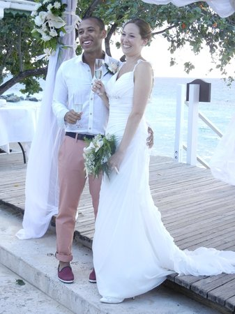 Mango Bay All Inclusive: Our wedding day