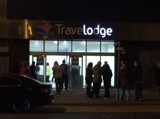 Travelodge Southend on Sea: Fire evacuation