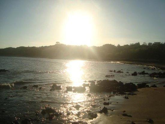 Pousada Terra Mar: Pôr do sol em Praia Grande/Fundão/ES
