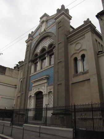 Il Tempio Israelitico di Milano: facciata