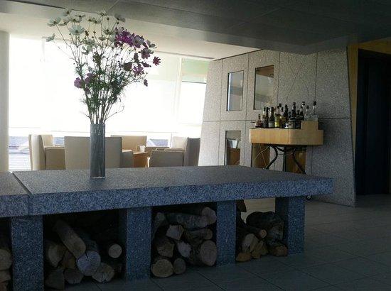 Michel Bras: salle aperitif