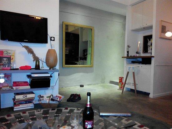 Au Vieux Panier : living room - reception