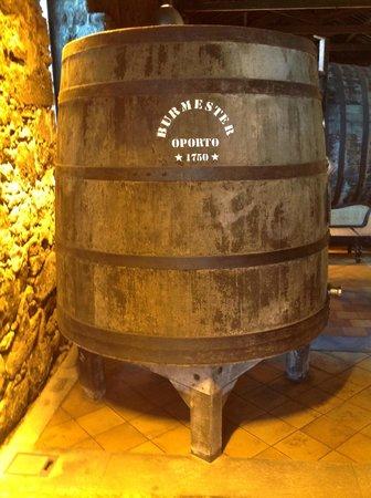 Eurostars Das Artes Hotel: Visita a Cave de vinho do porto Burmaster