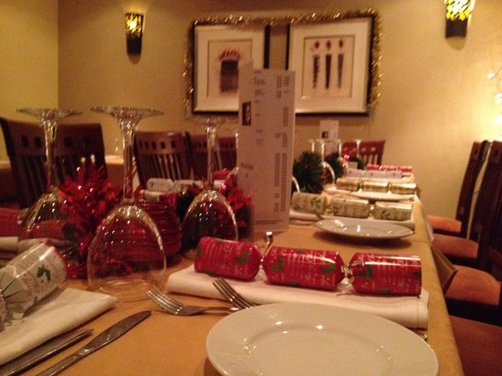 Jesmond Grill Restaurant: Christmas and New Year 2013/14