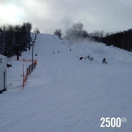 Horseshoe Resort: Nice slope