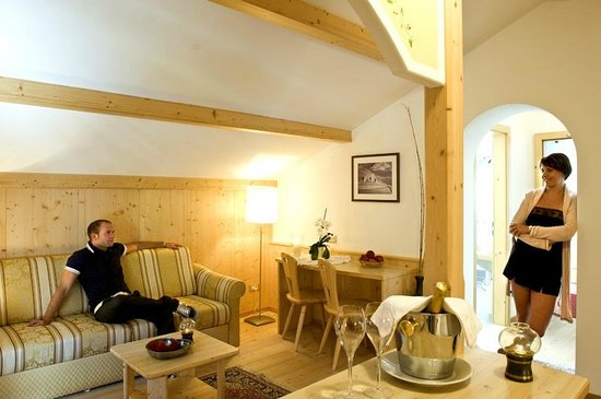 Hotel Florian: Suite Saslong