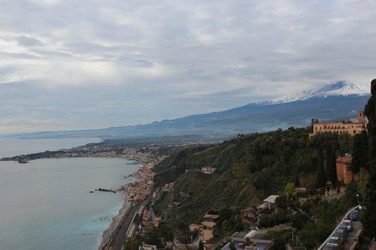 Hotel Villa Paradiso : vista dalla camera