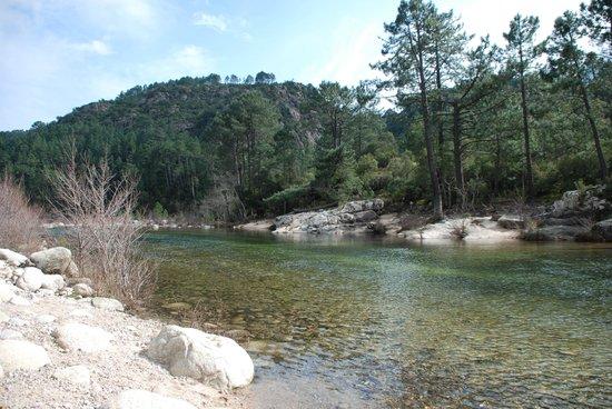 Gorges of the Solenzara River : rivière de La Solenzara