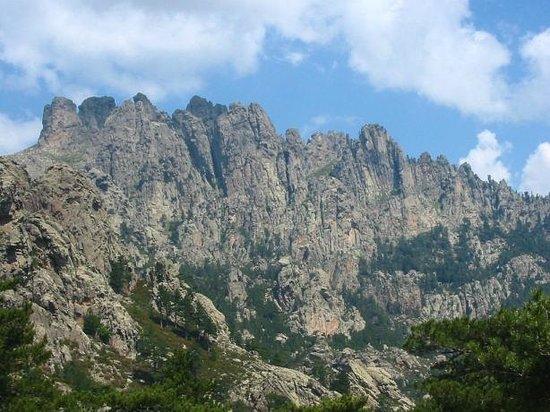 Gorges of the Solenzara River : Massif de Bavella