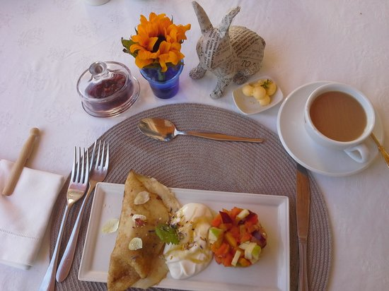 Vineyard Country House: such a delicious breakfast