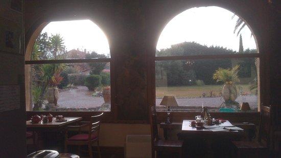 Villa Lafabregue: Vistas desde el comedor