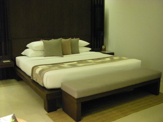 Cape Panwa Hotel : Very comfortable bed