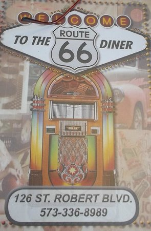 Route 66 Diner: at the diner 3