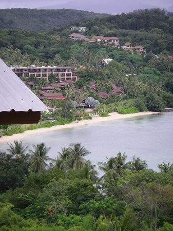 Cape Panwa Hotel : View from room