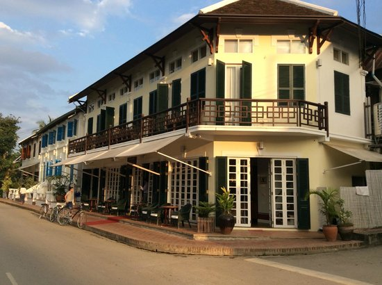 The BelleRive Boutique Hotel : The 3 buildings which make up the hotel