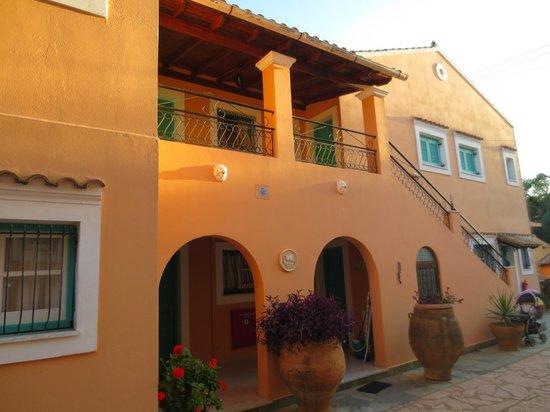 Artemis Apartments : External view