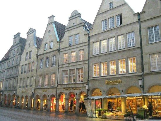 Prinzipalmarkt: старый город