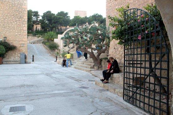 Castillo de Santa Bárbara: Вход в крепость