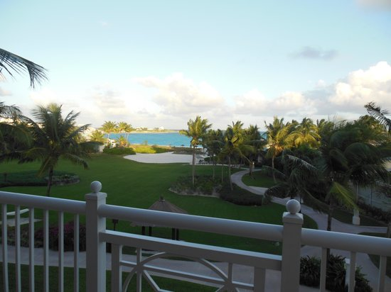 Sandals Emerald Bay Golf, Tennis and Spa Resort: View from the deck