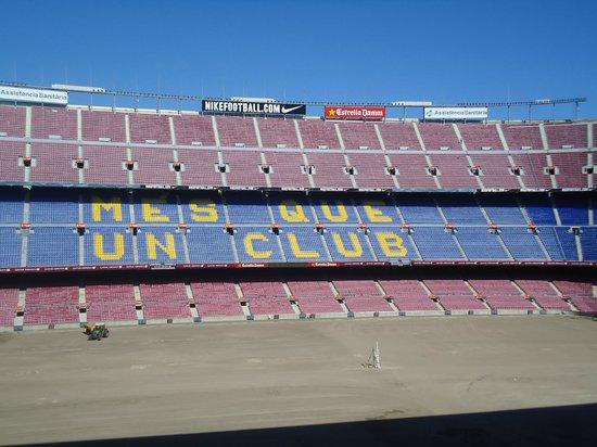 Museum des F.C. Barcelona (Museu del Futbol Club Barcelona): noucamp8