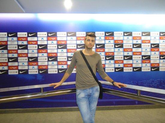 Museum des F.C. Barcelona (Museu del Futbol Club Barcelona): noucamp2