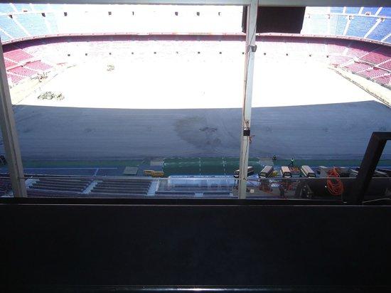 Museum des F.C. Barcelona (Museu del Futbol Club Barcelona): noucamp1
