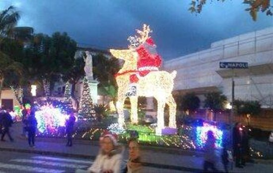 Villa Elisa Casa Vacanze: sorrento-illuminazioni natalizie a piazza sant'antonino-03.01.2014