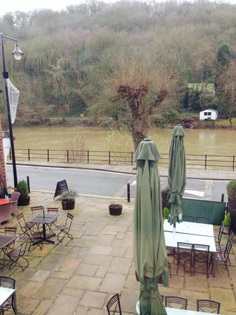 The White Hart Ironbridge: View from room 1