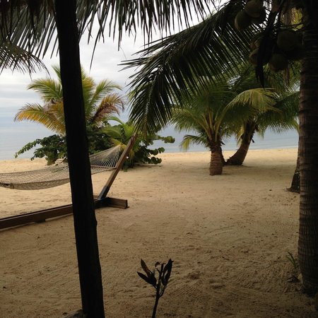 Singing Sands Inn : View from the Ocean Front cabana