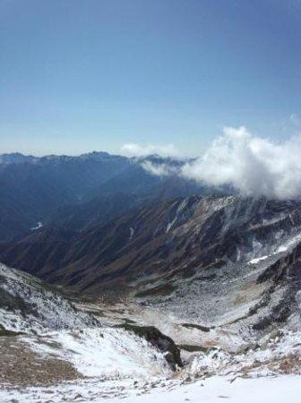 Mt. Tateyama: 立山から