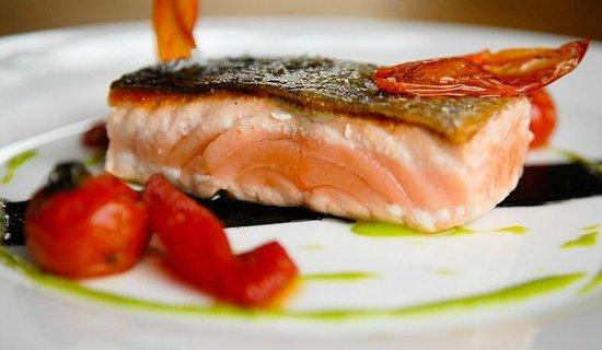 Hotel Villadesella: salmon