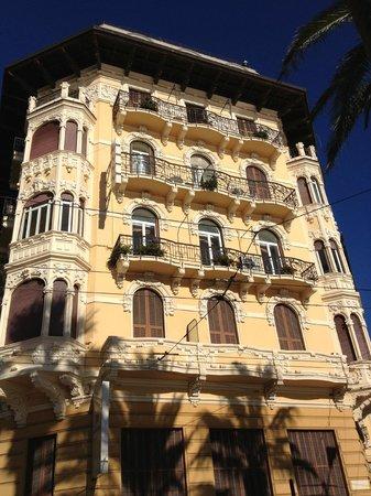 Lolli Palace Hotel: Facciata