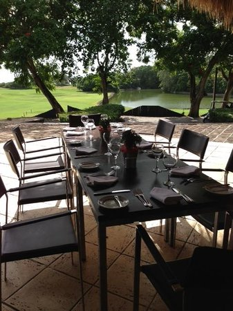 Casa de Campo: Where we ate breakfast every morning