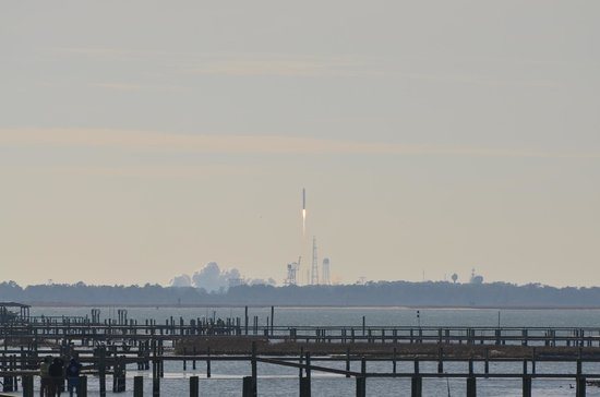 Waterside Inn: Wallops Island rocket launch from my balcony