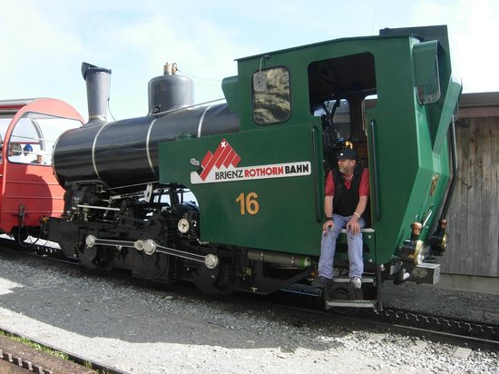 Brienz Rothorn Bahn: e quella degli anni 90 del 900.