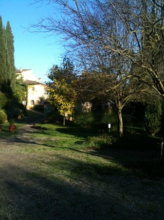 Tana de' Lepri: Vista do jardim