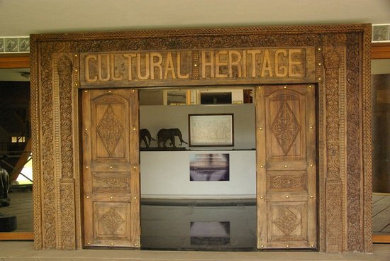 Cultural Heritage Centre: Entry to the gallery