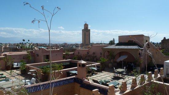 Riad & Spa Esprit du Maroc : Vue terrasse