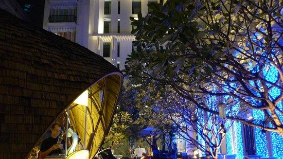 Hua Chang Heritage Hotel: jardin