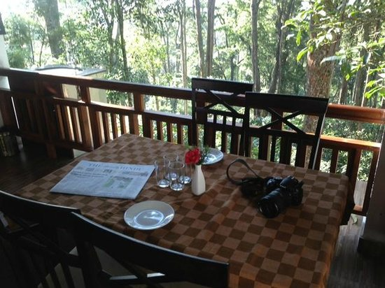 T.Cherry Villa: Breakfast with a view!