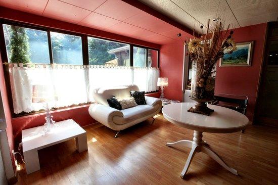 Hotel Pirene : recepcion
