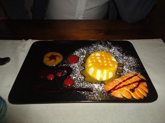 Time: panna cotta con salsa di mango..deliziosa!!!