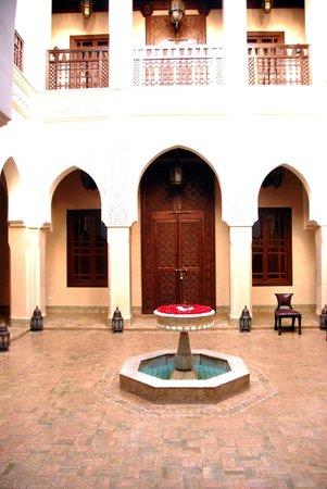 Riad Kniza: Atrium
