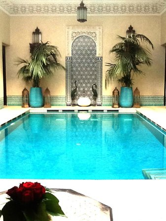 Riad Kniza: Beautiful Pool-Spa Area