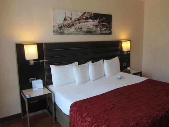 Eurostars Budapest Center Hotel: letto
