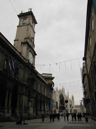 Palazzo Giureconsulti : facciata