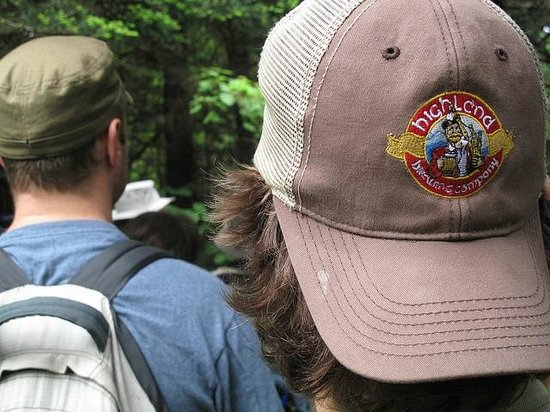 """Highland Brewing Company: """"For Love of Beer & Mountains"""" - Highland staff hiking the beautiful mountains of WNC."""