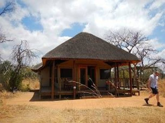 Thandeka Lodge and Spa: tente famille